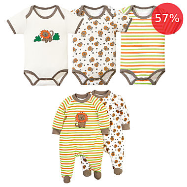 Erwin Müller 5-pc clothing set