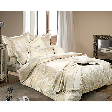Bauer cotton brocade damask duvet cover