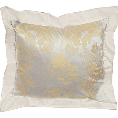 Bauer cotton brocade damask cushon cover