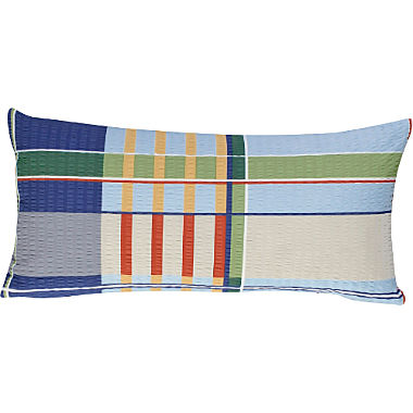 Erwin Müller seersucker pillowcase