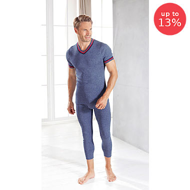 Pack of 2 trousers, 3/4 length