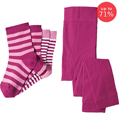 Erwin Müller 3-pc socks and leggings set