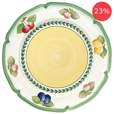 Pack of 2 Villeroy & Boch dinner plates