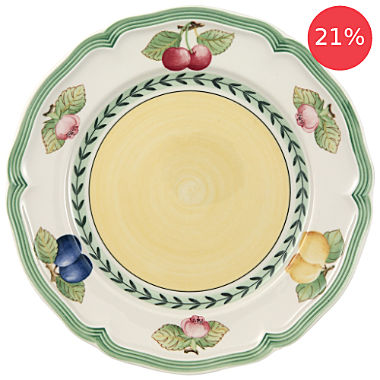 Pack of 2 Villeroy & Boch breakfast plates