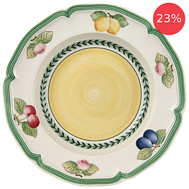 Pack of 2 Villeroy & Boch deep plates