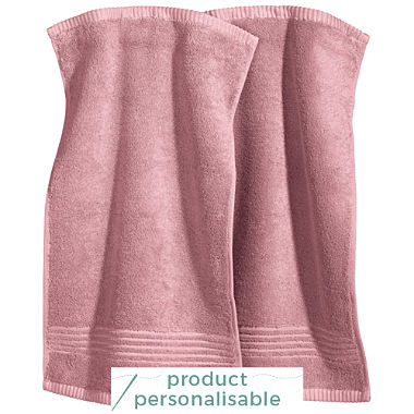 Pack of 2 Erwin Müller full terry small hand towels, Konstanz