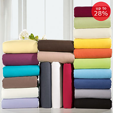 Erwin Müller elastic jersey fitted sheet,