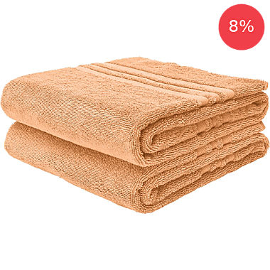 Pack of 2 Erwin Müller hand towels, Tübingen