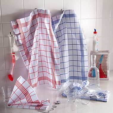 Pack of 2 tea towels