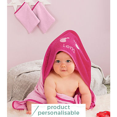 Erwin Müller kids 3-piece towel set incl. free name embroidery