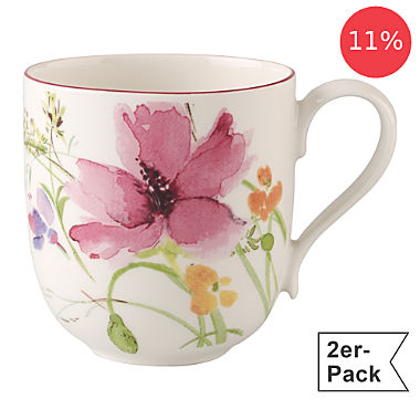 Villeroy & Boch coffee mug 2-pack