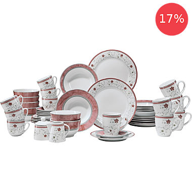 Gepolana 46-pc tableware set