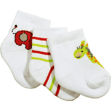 Erwin Müller 3-pack newborn socks