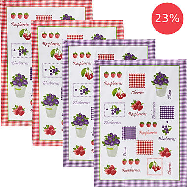 Erwin Müller 4-pack tea towels