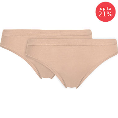 Conta low-rise briefs in double pack