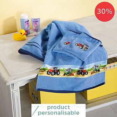 Erwin Müller kids 3-piece towel set