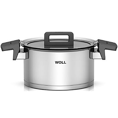 Woll cooking pot with glass lid