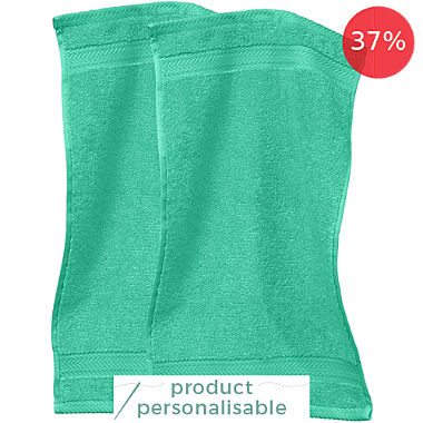 Pack of 2 Erwin Müller premium cotton small hand towels, Friedrichshafen