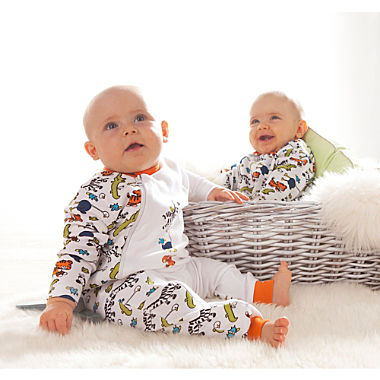 Erwin Müller 2-pack baby sleepsuits