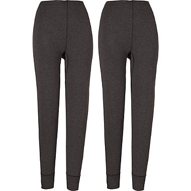 2-pack women's long underwear bottoms