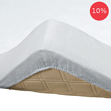 Pack of 2 Erwin Müller waterproof molleton fitted sheets