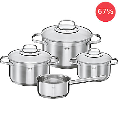 Rösle pot set, 7-parts