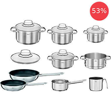 Rösle pot set, 14-parts