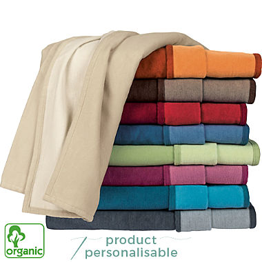 Ibena organic cotton blanket