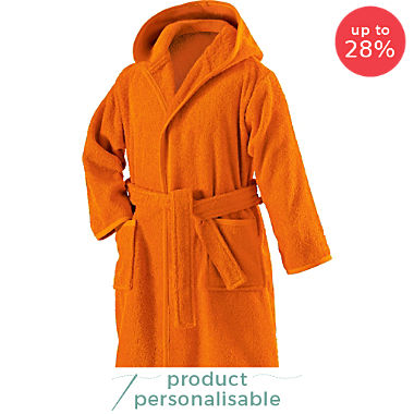 Erwin Müller kids hooded bathrobe