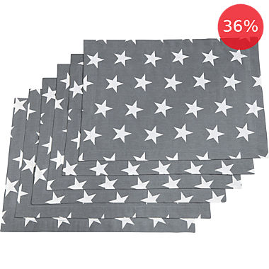 REDBEST  6-pack table mats