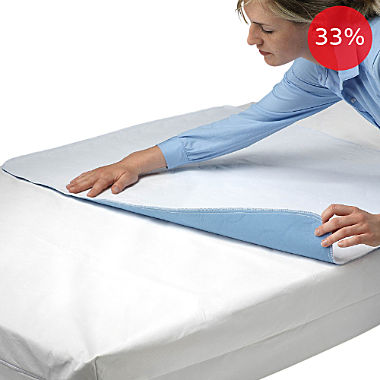 Erwin Müller 2-pack waterproof & boil-proof mattress protectors