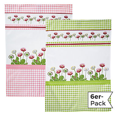 Erwin Müller 6-pack tea towels