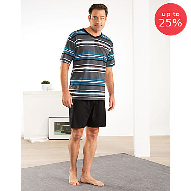 Erwin Müller single jersey men´s short pyjamas