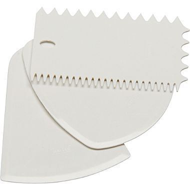 Kaiser Backen dough scraper, 3-parts