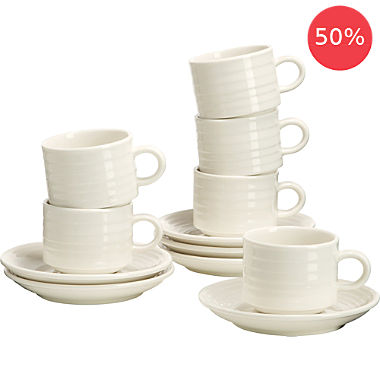 Gepolana espresso set, 12-parts