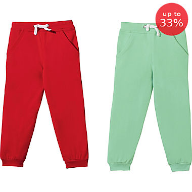 Erwin Müller 2-pack children's sweat pants