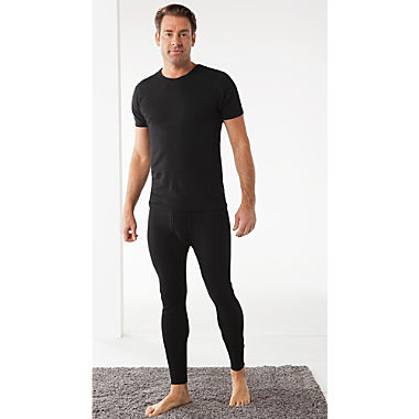 Erwin Müller 2-pack men's long underwear bottoms
