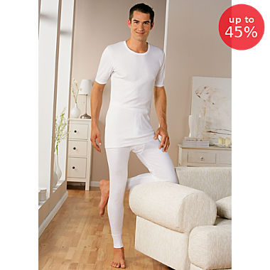 Pack of 2 Erwin Müller long trousers