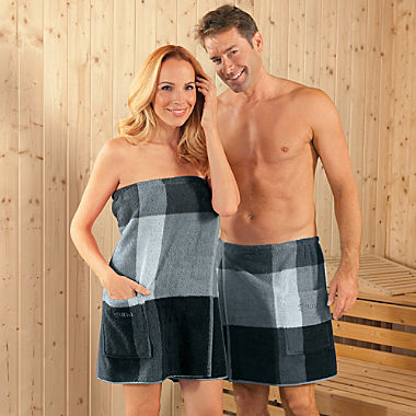 Erwin Müller men's spa wrap