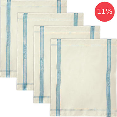 Erwin Müller 4-pack tea towels for glass