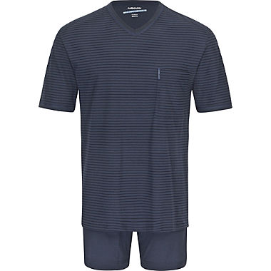 Ammann single jersey men's short pyjamas