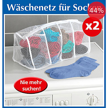 2-pack sock washing bags