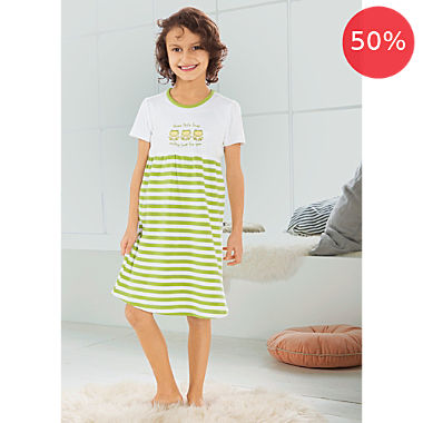 Erwin Müller interlock jersey girl's nightdress