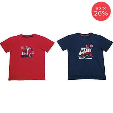 Erwin Müller 2-pack children's T-shirts