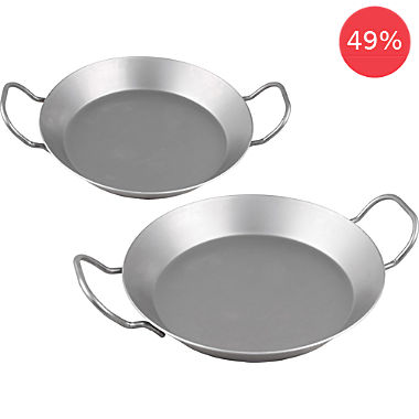 CHG 2-pc iron pan set