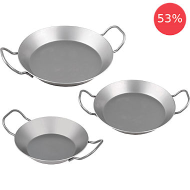 CHG 3-pc iron pan set