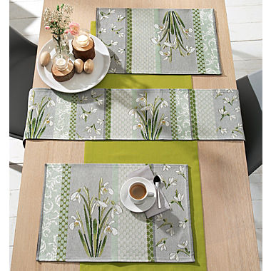 2-pack Sander tapestry table mats