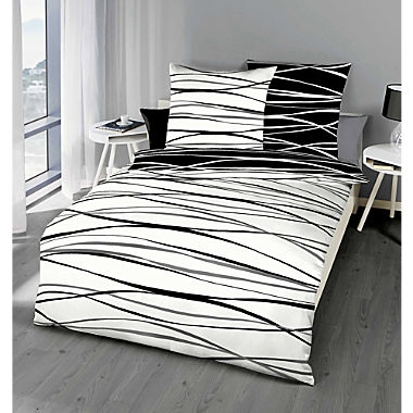 Kaeppel Egyptian cotton sateen reversible duvet cover set
