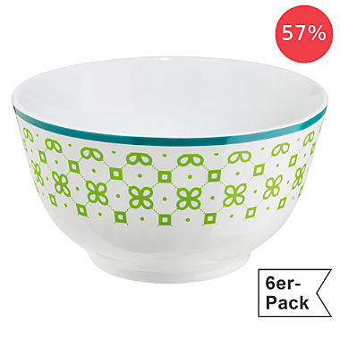 Gepolana by Erwin Müller 6-pack cereal bowls