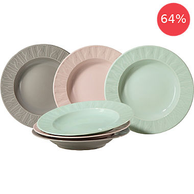 Erwin Müller 6-pack soup dishes